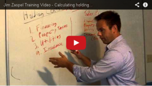 Jim whiteboard calc holding costs